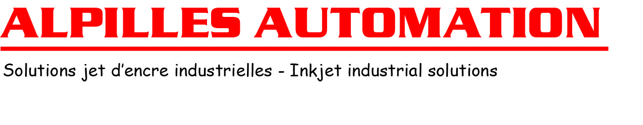 Logo ALPILLES AUTOMATION / INKJET MACHINES